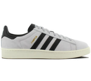 cheap for discount 8883f 9de1b Image is loading Adidas-Originals-Campus-Leather-Men-039-s-Sneakers-