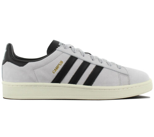 Adidas Originals Bz0067 Campus Baskets Chaussures Gris Hommes Retro Leather Cuir hCBrdtsQx