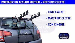 ALFA ROMEO GIULIETTA DAL 2010 PORTABICI portellone per 2 biciclette supporto post