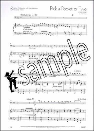 A Little Light Music for Trombone Bass Clef Sheet Music Book
