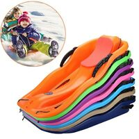 Pratical Adult Kid Sled Comfy Sand Grass Toboggan Multipurpose Downhill Sledge