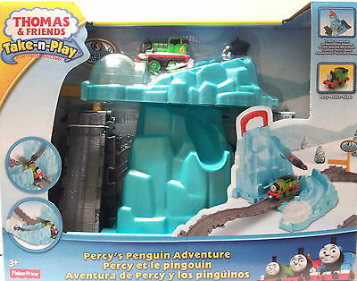 Thomas & Friends - Take-n-Play - Percy's Penguin Adventure 3+Yrs Fisher  Price 746775253844 | eBay