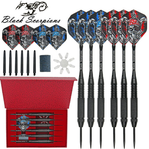 Professional Competition Steel Needle Tip Darts Sets Tungsten Barrel Shaft 6PCS