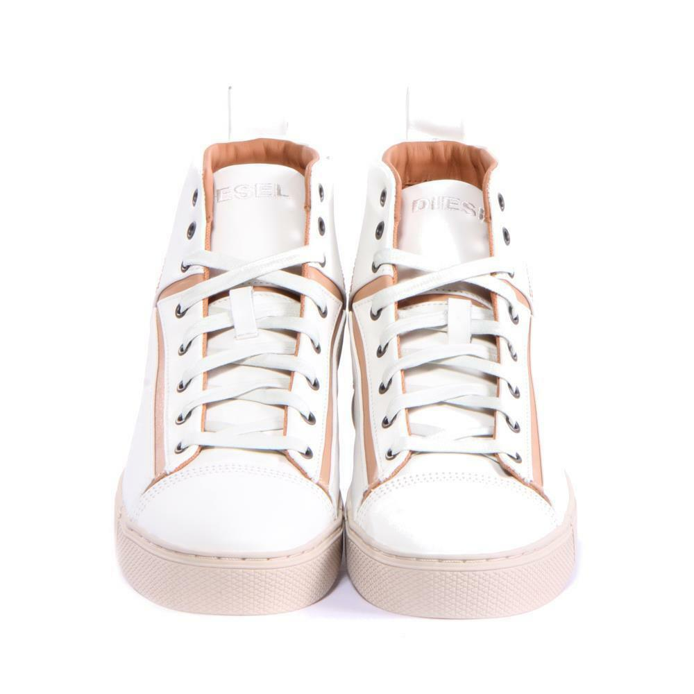 Uomo Diesel Shoes Shoes Shoes S-Illusion S-Mirage Mid  White Size 10 f6ff2e