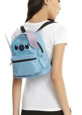 Disney Lilo & Stitch Face Mini Faux Leather Backpack School Book Bag Gift NWT!