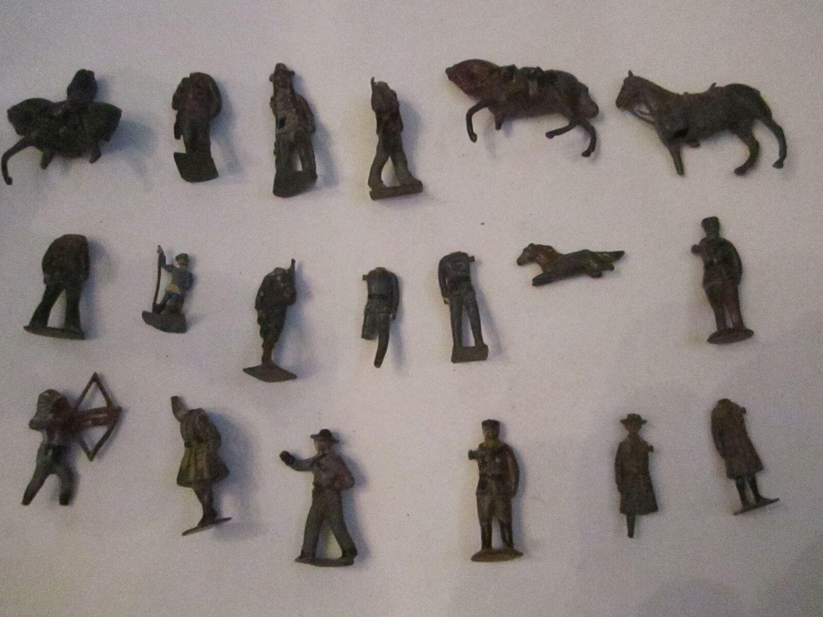 Lote Vintage De Los propietarios de Gran Bretaña Ltd.. Metal Figuras - 18 Piezas Colección T M