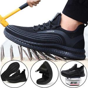 Sicherheitsschuhe Arbeitsschuhe Rutschfest S3 Stahlkappe Atmungsaktiv Sneaker DE