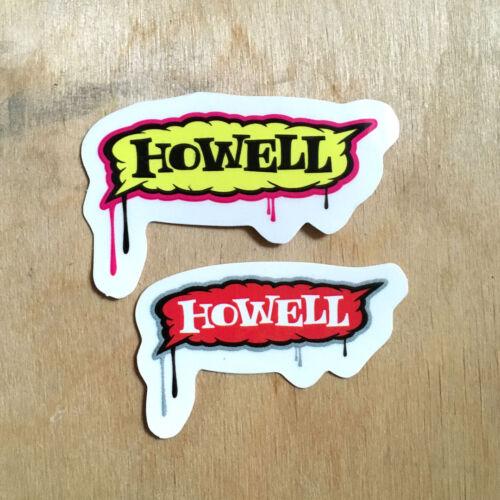 New Deal skateboards vinyl bumper original Andy Howell art street Sophisto SK8
