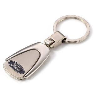 Car Logos Alloy Key Chains Car Keychain Ring Keyfob Metal Keyrings for Ford