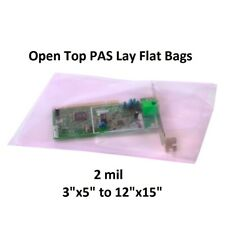 Pink Anti Static Bags Lay Flat Open Top Boards Electronics Pas 2 Mil Antistatic
