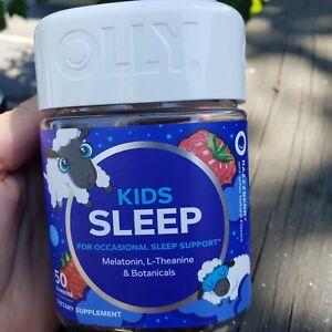 Olly Restful Sleep Gummy Supplement Raspberry 50 Gummies Ebay