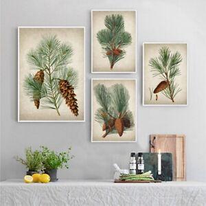 Pine Botanical Wall Art Canvas