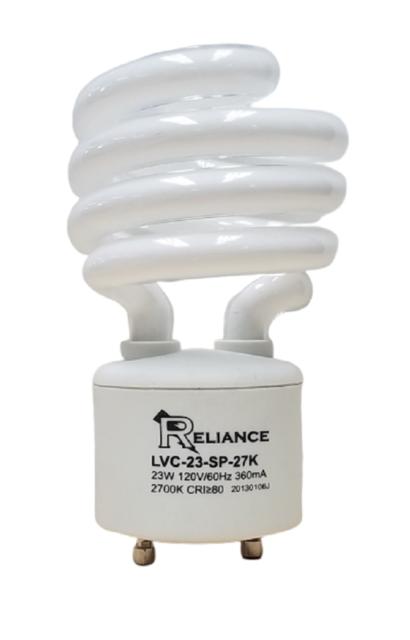 2700K 23 W 2 PK Do It -100 Watt Equivalent Soft White Mini Spiral Light Bulb