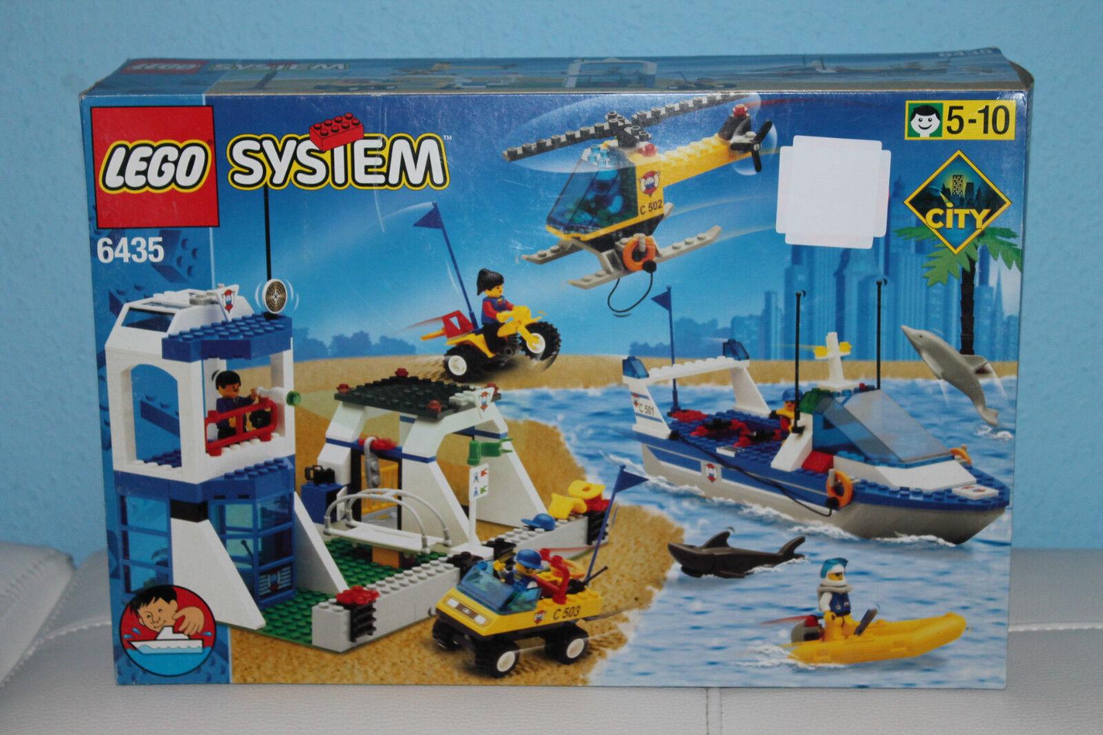 LEGO ® 6435 système-eau garde  Coast Guard-Nouveau OVP rare  sortie d'exportation