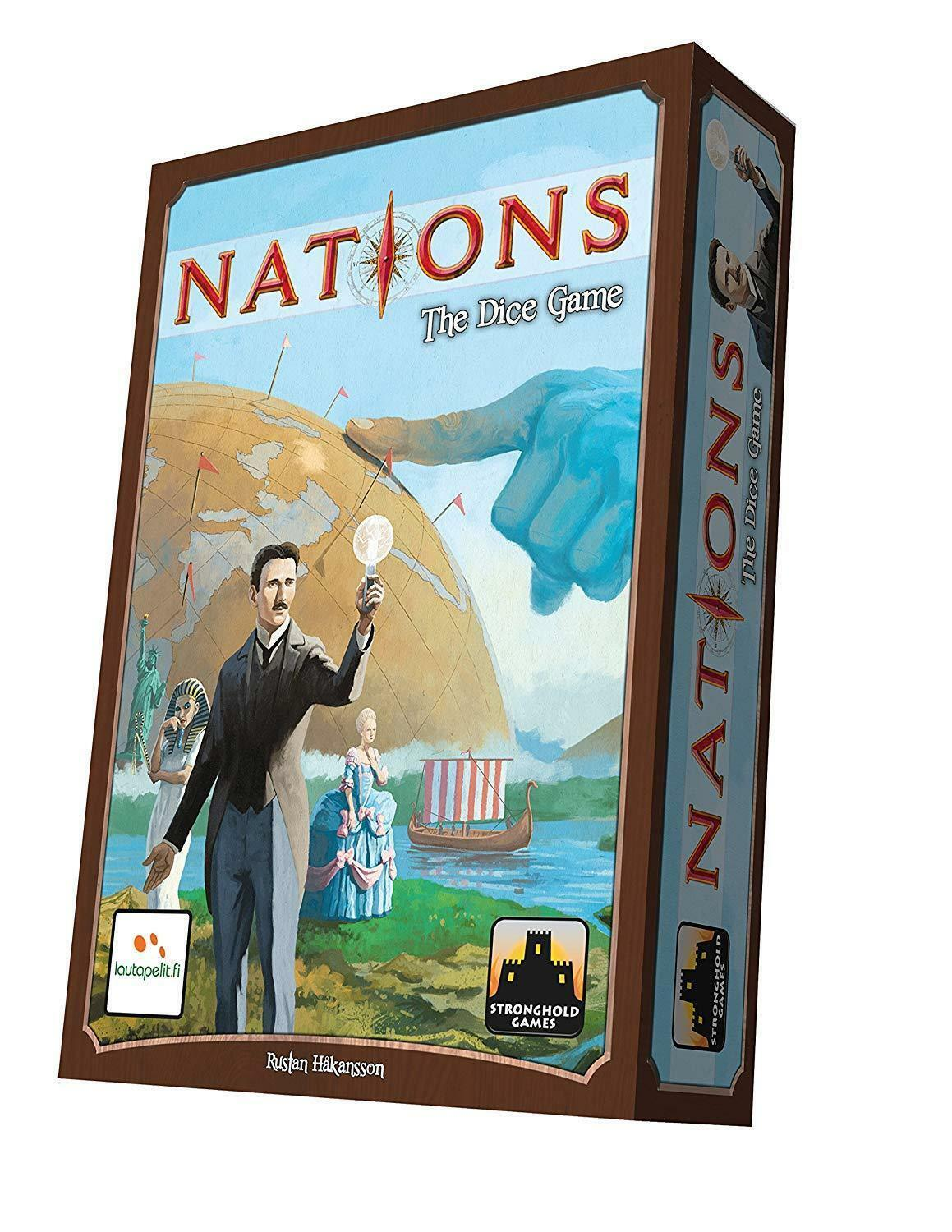 Nations: The Dice Game Board Game - NEW IN SHRINK
