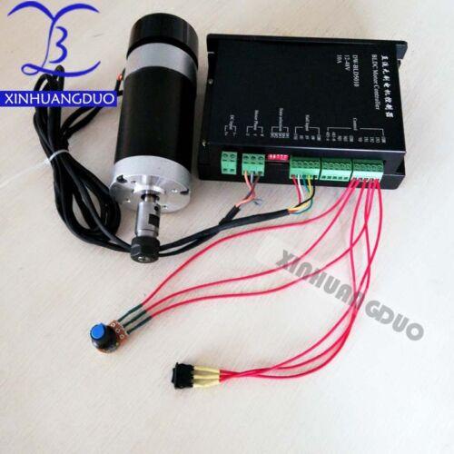 dedicated controller CNC engraving machine 48V 500W PCB brushless spindle motor