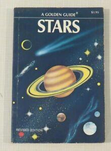 Stars - A Golden Guide - 1975, vintage paperback, revised edition