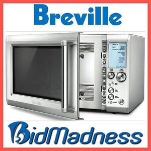 Breville Bmo735bss 34l 1100w Stainless Steel Microwave