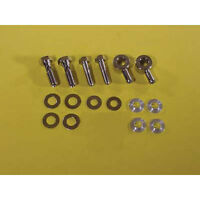 V-twin Chrome Breather Bolt Banjo Kit For Harley Air Cleaners Sportster