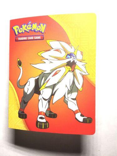 Pokemon Mini Album Binder ft. Lunala and Solgaleo Sun & Moon - Box Shipped