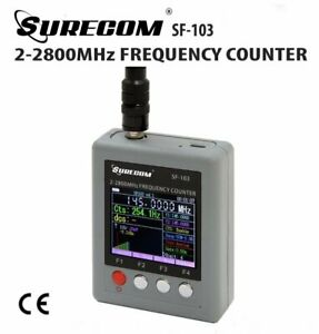 SURECOM-SF-103-Portable-Frequency-Counter-2MHz-2-8GHz-w-TFT-Color-Display-US
