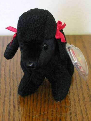 ty Beanie Babies 1997 GiGi the Black Poodle MWMT