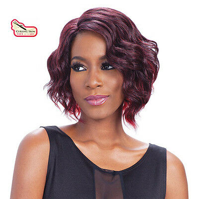 Equal Synthetic Invisible Lace Front L Part Wig Sammi