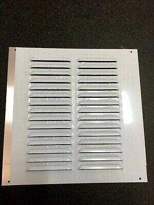 Griglia Di Areazione In Alluminio Quadrata Da Appoggio Con Rete Mm 250x250 Ebay