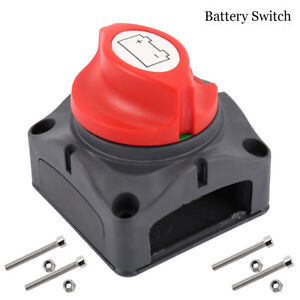 Battery-Isolator-Switch-Cut-Off-Disconnect-Power-Kill-600A-Key-Car-Van-Boat-AT
