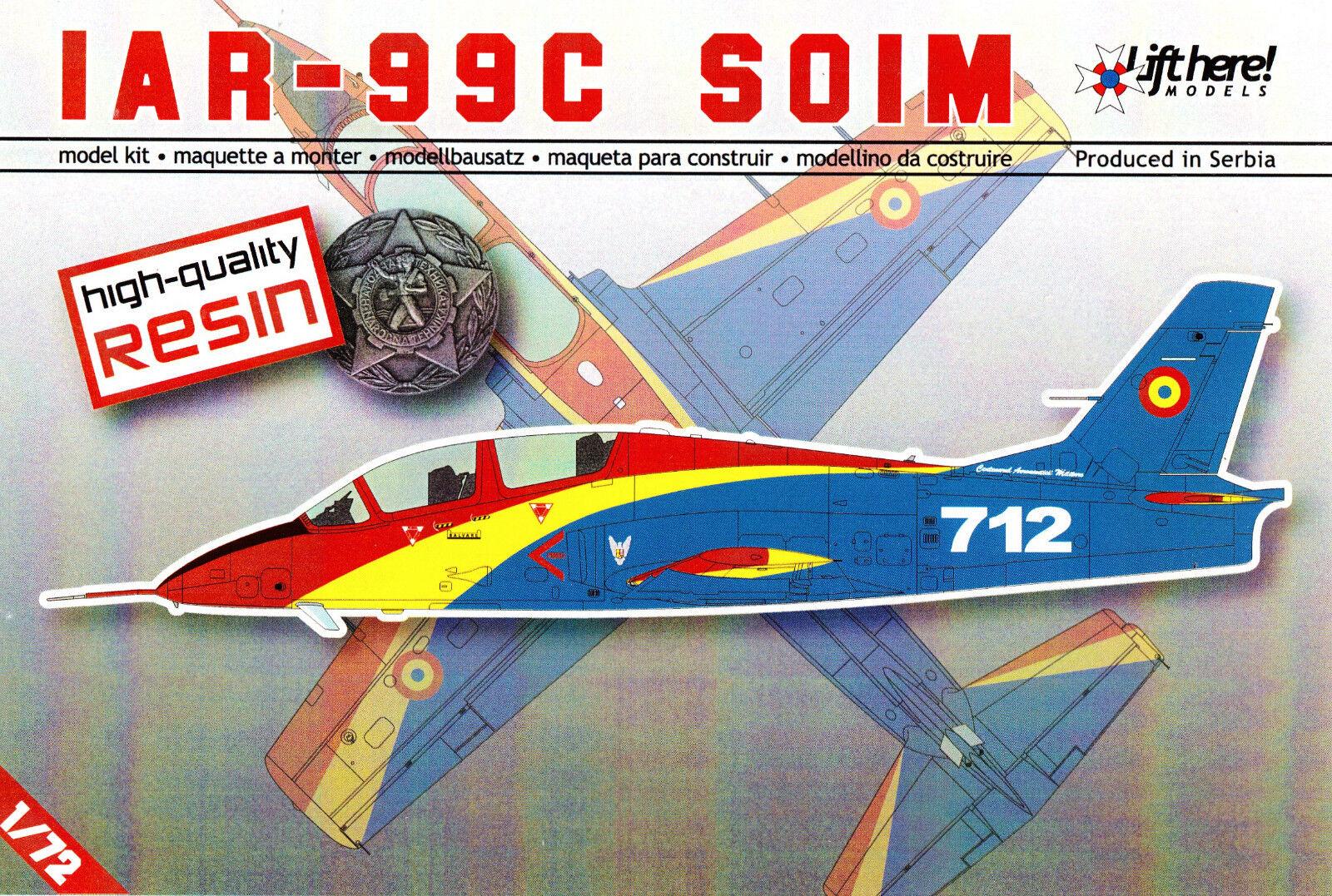 Lhm031  Lift Here Models - IAR-99C  Soim  - Resin - 1 72 - RARITÄT