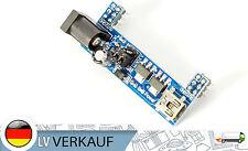 Mini Breadboard Adapter blau mit Spannungsregler 3,3/5V für Arduino Raspberry Pi