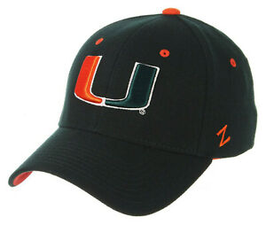 MIAMI-HURRICANES-034-THE-U-034-NCAA-GREEN-FLEX-FIT-CAP-HAT-ZH-Z-FIT-SIZE-XL-NWT