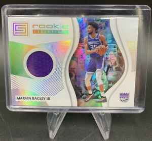 2018-19 Panini Status Marvin Bagley III Rookie Essentials Relic RC Kings