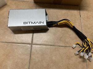 Tested Bitmain Power Supply Antminer 12V 1600W PSU APW3+