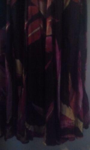 fantaisie la soie noir manches Principes Robe sans de motif pure avec Sz12 ᄄᆭcrasᄄᆭe TwkXiOPZul