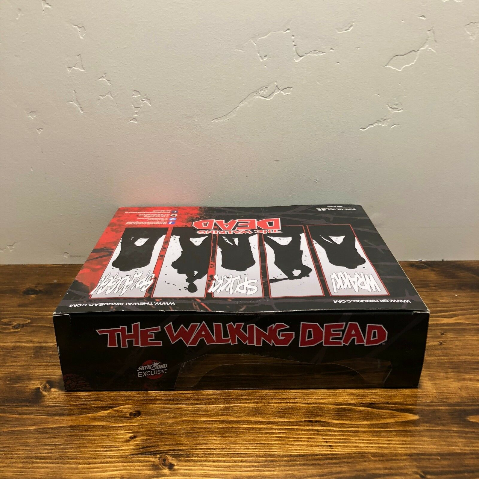 SDCC Skybound Exclusive The Walking Dead Dead Dead Negan and Glenn Bloody Figure Set S O 1f2221