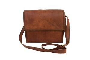 9-In-Vintage-Leather-Messenger-Bag-Satchel-Women-Handbag-Crossbody-Sling-Bags