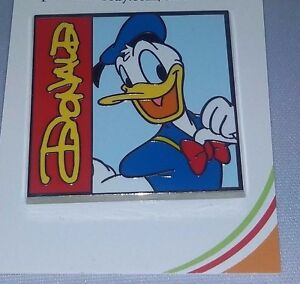 Disney-Donald-duck-portrait-with-name-Donald-duck-Pin