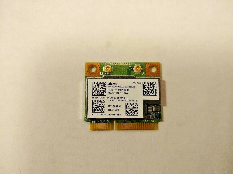 Lenovo 04W3835 Broadcom BCM943228HMB 802.11a/b/g/n WLAN + BT PCI-E Half