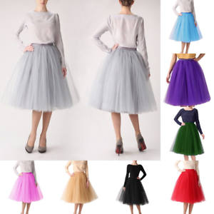 cc0bd21ced 5 layers lace Maxi Long Tulle Skirt Celebrity Skirts womens Adult ...