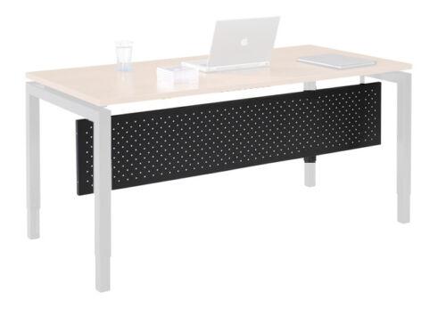 Beinraumblende Schwarz Sichtblende Schreibtisch