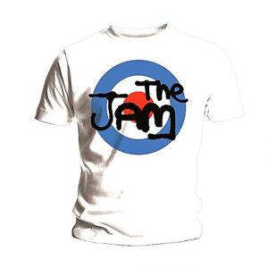 NEW /& OFFICIAL! /' T-Shirt Black The Jam /'Spray Logo
