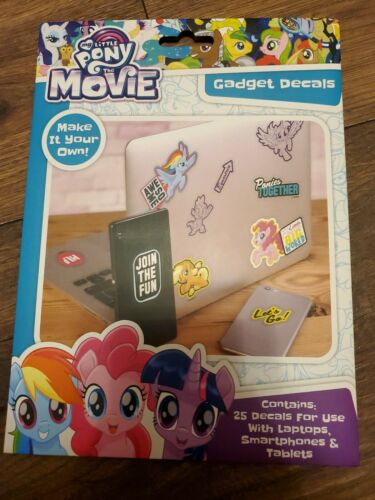 My Little Pony The Movie Gadget Decals 25 Stickers for Phones Laptops Tablets