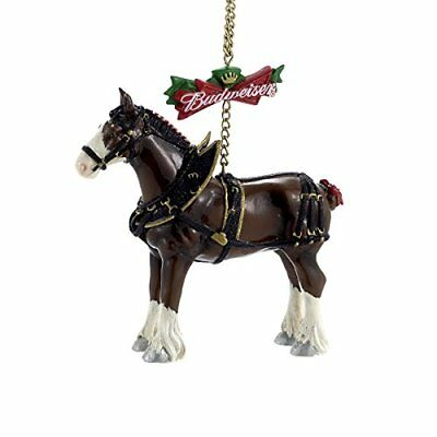 Budweiser Clydesdale Horse Christmas Tree Ornament ...