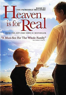 1 of 1 - HEAVEN IS FOR REAL..REG 4..NEW & SEALED   dvd482