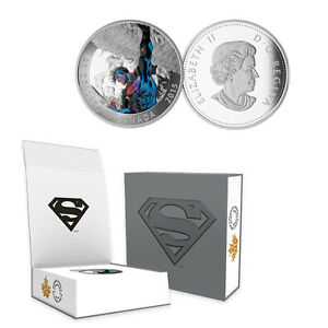 2015-Canada-20-Superman-Action-Comics-2-1-oz-Silver-Proof-Coin-w-OGP-COA