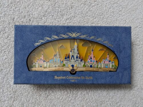 Happiest Célébration Sur Terre Disney Theme Park Castles Super Géant Broche Mk