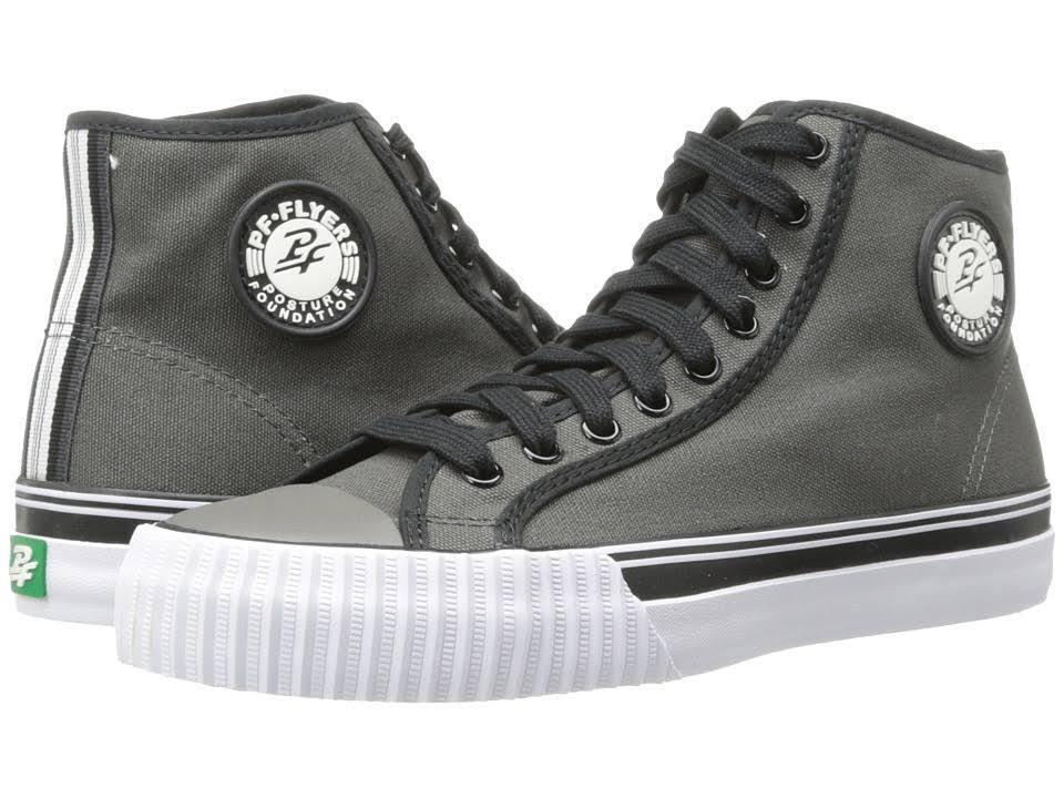 PF-FLYERS PM14OH1G CENTER HI Unisex (M) Black Canvas Skate Shoes