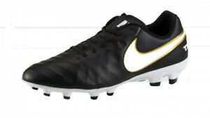 Neu Details Nocken Herren Genio Nike Zu Tiempo Fg Leder Schuhe Schwarz Fussball Ii 819213 m80yNnvwO