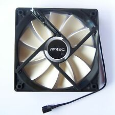 Antec PWM PC Case Fan 120mm 12025 4 Pin 11 Wings Cooling Cooler Quiet Fluid F02